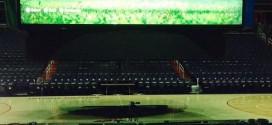 Insolite! Les Wizards jouent à FIFA 15 sur un très très grand écran