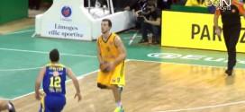 Vidéo: Léo Westermann marque au buzzer de sa propre ligne à trois points !