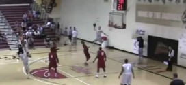 Le alley-oop stratosphérique de Chrishawn Hopkins (1m88)
