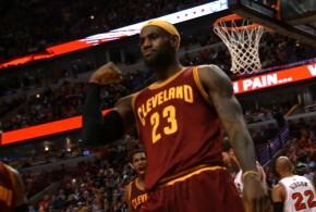 Cleveland arrache la victoire à Chicagodans le sillage de LeBron James