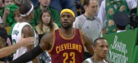 LeBron James séduit pas les Boston Celtics