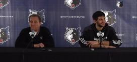 Ricky Rubio parle de l'ambiguïté du rôle de Flip Saunders aux Wolves
