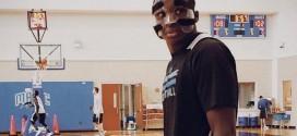 Victor Oladipo devra porter un masque de protection