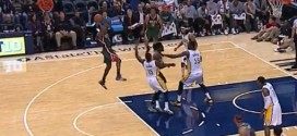 Fail : Brandon Knight hésite entre shoot et passe et perd le ballon