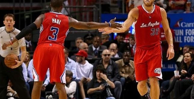 Chris Paul et Blake Griffin s'amusent à Miami
