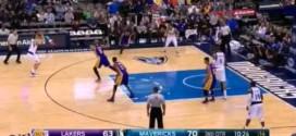 Compilation des pires séquences défensives des Lakers à Dallas