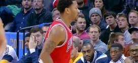 Derrick Rose aggrave encore sa blessure à Denver