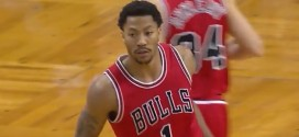 Les 21 points de Derrick Rose contre Boston
