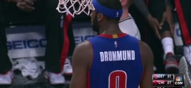 Insolite : une faute d'orthographe sur le maillot d'Andre Drummond