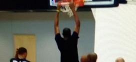 Vidéo : Kevin Durant dunke à l'entraînement