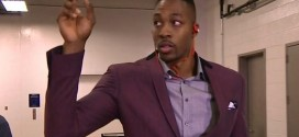 Dwight Howard confiant à propos de son genou
