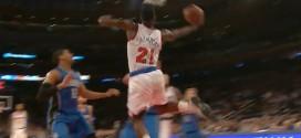 Iman Shumpert claque un magnifique reverse dunk