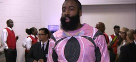 Fashion: James Harden premier prétendant au titre du plus bel accoutrement de la saison