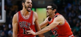 Le contre + shoot clutch de Joakim Noah contre les Celtics