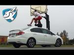 Jordan Kilganon fait le remake du dunk de John Wall par-dessus une voiture