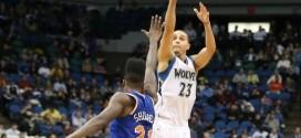 Les Knicks s'enfoncent dans le Minnesota