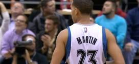 Poignet fracturé pour Kevin Martin !