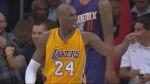 Le circus shot avec la faute de Kobe Bryant