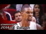 Les 28 points de Chris Bosh face aux Clippers