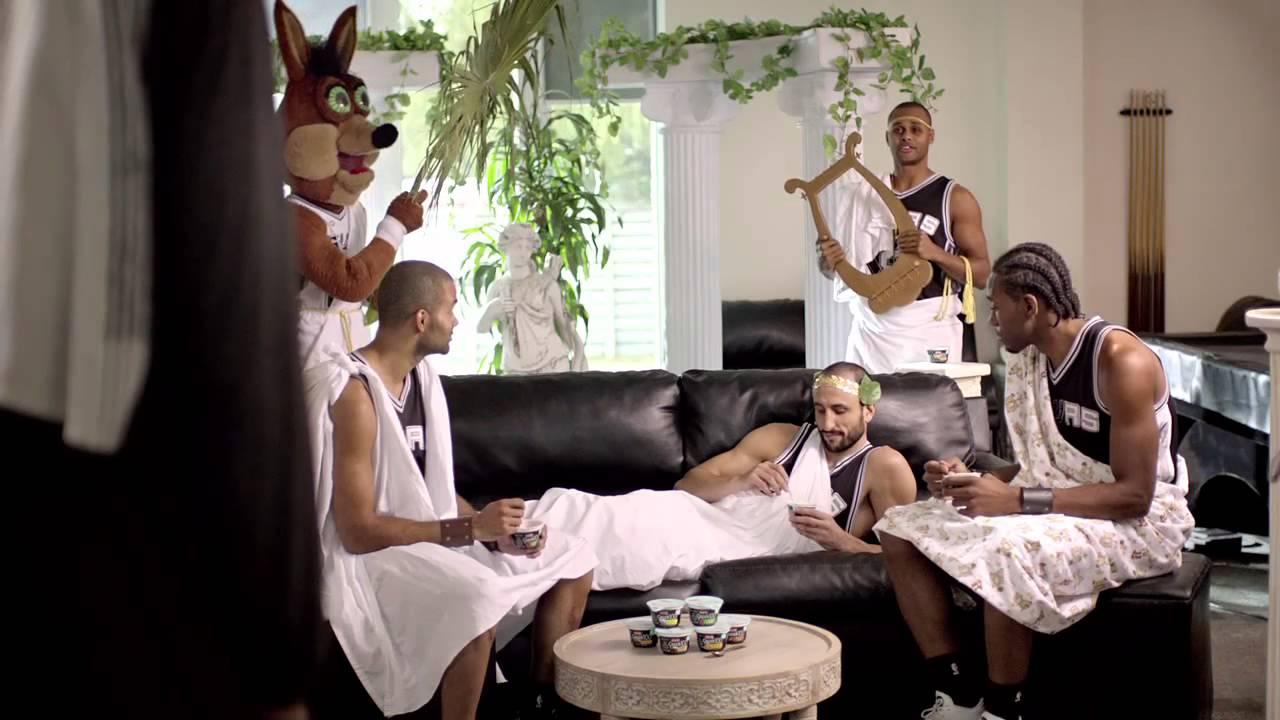 Les dernières publicités des Spurs pour HEB
