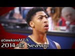Les highlights d'Anthony Davis (31 points, 11 rebonds) et Markieff Morris (30 points, 7 rebonds)