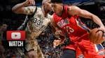 Les highlights d'Anthony Davis face aux Spurs:27 points, 11 rebonds, 4 interceptions et 6 contres