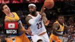 Les highlights de LeBron James: 22 points et 11 passes