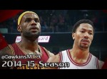 Les highlights de LeBron James (36 points) et Derrick Rose (20 points)