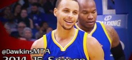 Les highlights de Stephen Curry: 28 points à 6/8 à 3-pts et 8 passes en trois quart temps