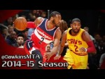 Les highlights du duel John Wall/Kyrie Irving (50 pts combinés)