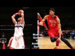 Les highlights du duel Marcin Gortat (24 pts & 13 rebs) /Anthony Davis (30 pts & 13 rebs)