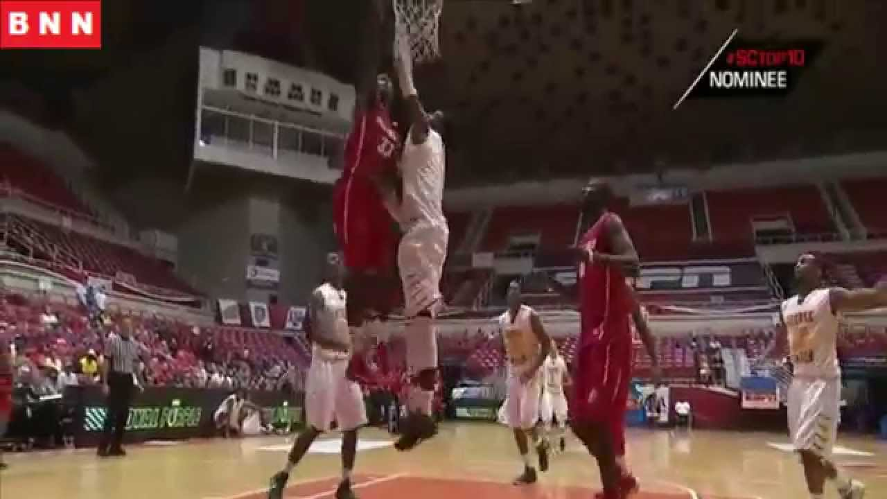 NCAA: l'énorme dunk de Deshawn Delaney