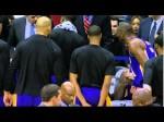 Vidéo : Kobe Bryant passe un savon à son banc