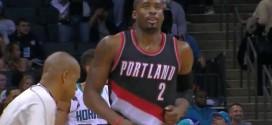 9e victoire consécutive pour Portland à Charlotte