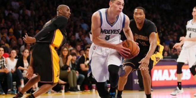 Les Timberwolves braquent les Lakers à Los Angeles