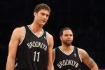 Brook LOpez et deron williams