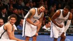 Deron Williams, Joe Johnson et Brook Lopez