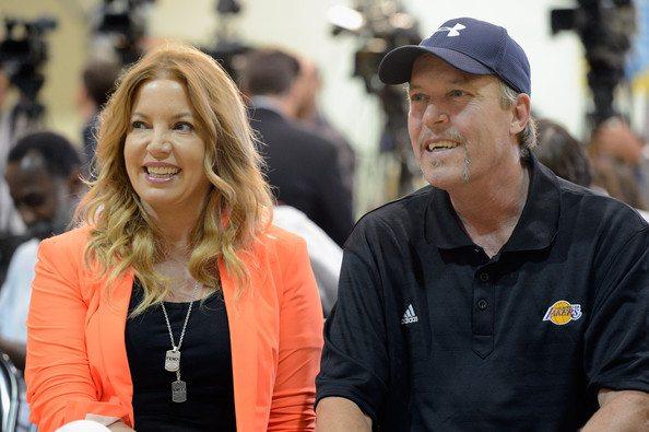 Jeanie Buss Jim Buss Los Angeles Lakers