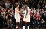 Kevin Love et LeBron James
