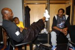 Kobe Bryant et Mochael Jordan