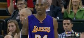 Kobe Bryant pourrait être absent demain et mis au repos lors de certains back-to-backs