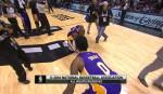 La célébration de Nick Young et Kobe Bryant