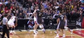 Vidéo: Marreese Speights averti pour flopping
