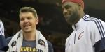 Mike Miller et LeBron James