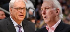 Gregg Popovich réagit avec sarcasme aux propos de Phil Jackson sur le fait que les Spurs ne sont pas une dynastie