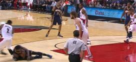 Vidéo: Roy Hibbert averti pour flopping