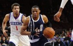 Russell Westbrook michael carter williams