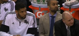 Tony Parker out ce soir