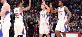 Vidéo: le shoot au buzzer de Blake Griffin vu du banc des Clippers