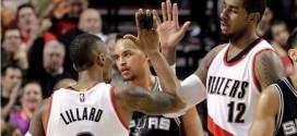 Portland écarte l'équipe B des Spurs